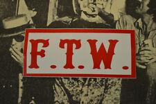 Hells Angels Nomads, AZ USA - F.T.W. - Stickers