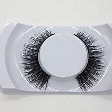 Long Natural Thick Faux Mink Fur Eye Lashes False Eyelashes Makeup Kit Sweet