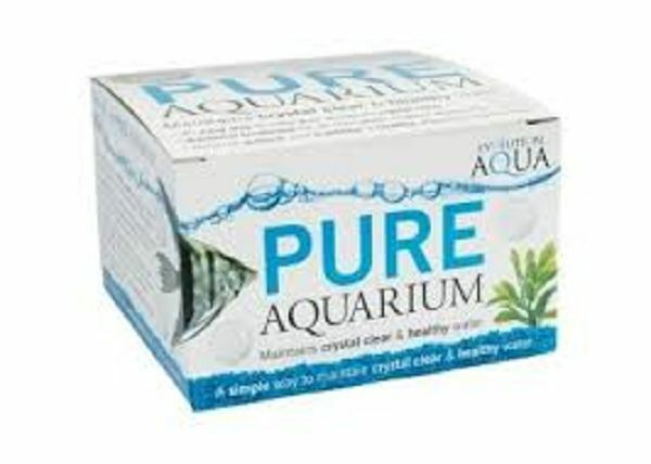 PURE AQUARIUM CRYSTAL CLEAN / CLEAR WATER 50 BALLS FRIENDLY BACTERIA FISH TANK