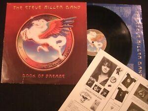 Steve Miller Band - Book of Dreams - 1977 Vinyl 12'' Lp./ VG+/ Prog Rock AOR