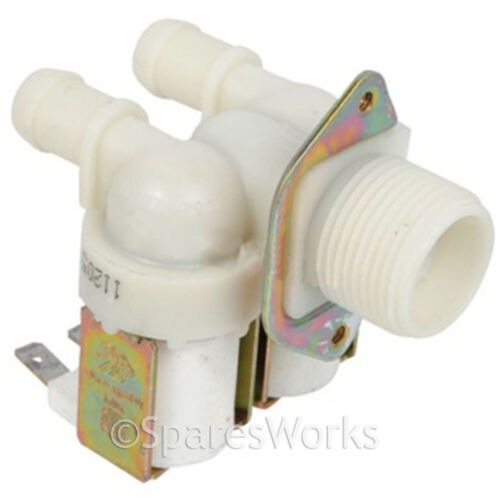 Double Inlet 2 Way 180º Solenoid Cold Water Valve for HOOVER Washing Machine