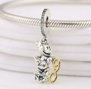 Disne-CHARM-Mickey-Mouse-90th-Anniversary-Limited-Edition-Steriling-Silver-SALE