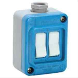 Palazzoli-202275-Switches-wall-light-thermosetting-IP67-1X16A-TAIS-TI-1XM2