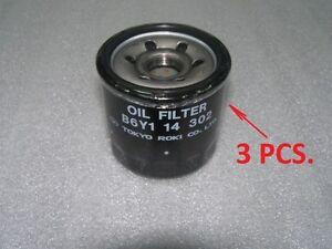 Set 3pcs Oem Original Oil Filter Mazda Rx8 Rx 8 2003 2008