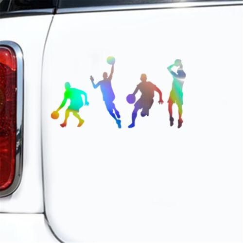 Vinyl Basketball Player Wall Sticker Car Bumper Laptop DIY Art Decor Decal Sport