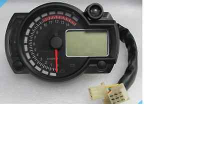 LCD Digital Speedo / Tacho - Ideal Streetfighter Project / Clocks / Cafe Racer