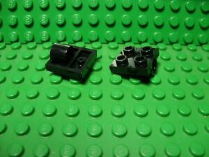 ** 25 CT LOT ** Lego NEW black 2 x 2 modified plate W// side studs pcs