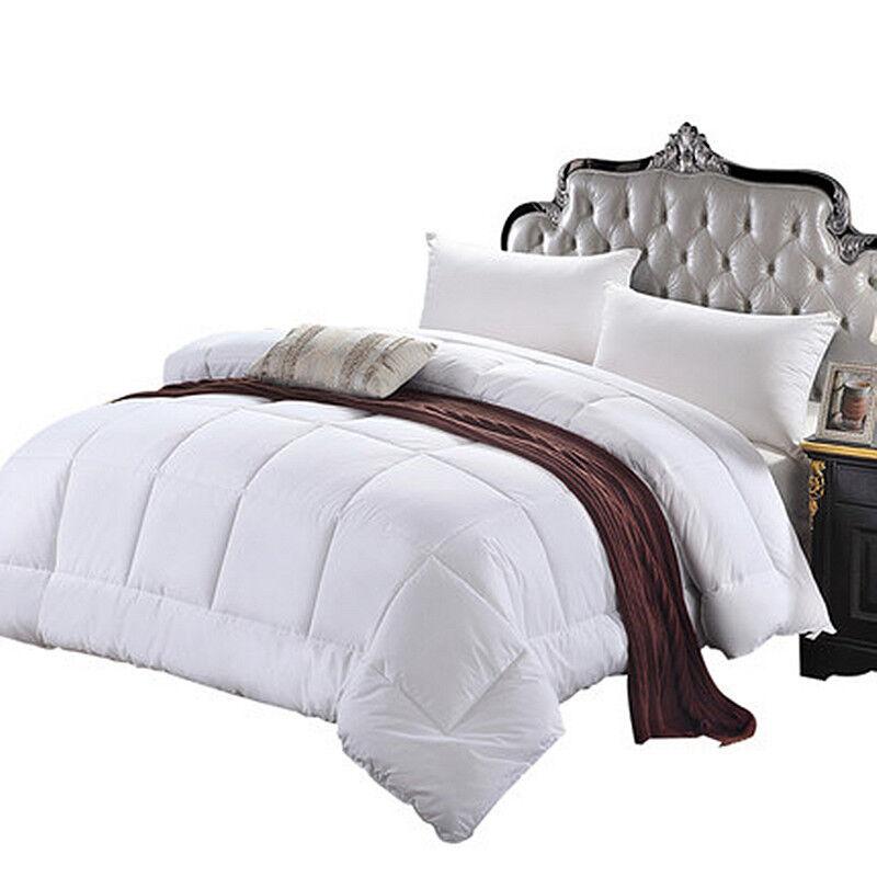 Hinunter Alternative Bettdecke Alle Jahreszeiten Plüsch Silikon Bettbezug Neu