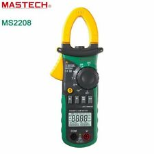 Mastech Ms2208 Power Clamp Meter Multimeter Trms Voltage Power Phase Angle Test