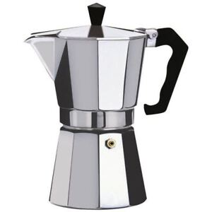 Espresso Stove Top Coffee Maker Aluminium Moka Percolator Pot 12 Cup