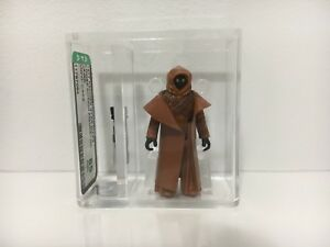 1977-Vintage-Kenner-Star-Wars-Jawa-Vinyl-Cape-AFA-85-NM-with-COA