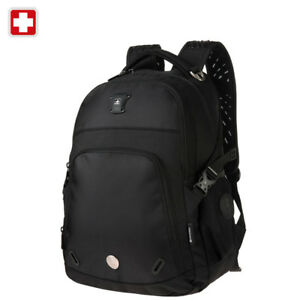 Swiss-waterproof-15-039-039-Laptop-Backpack-School-Backpack-Travel-shoulder-Bag-SW9017