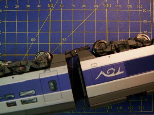 3 paires MICRO-CONNECTEUR  M//F 3 fils câble souple 0,5 mm 10 cm éclairage wagon