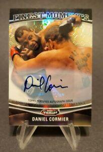 2012 Finest UFC Finest Moments Autographs Octafractors #FM-DC Daniel Cormier 6/8