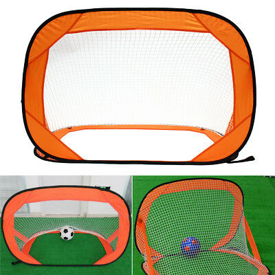 Instant Pop up Childrens Kids Football Goal Portable Foldable Indoor Garden Fold