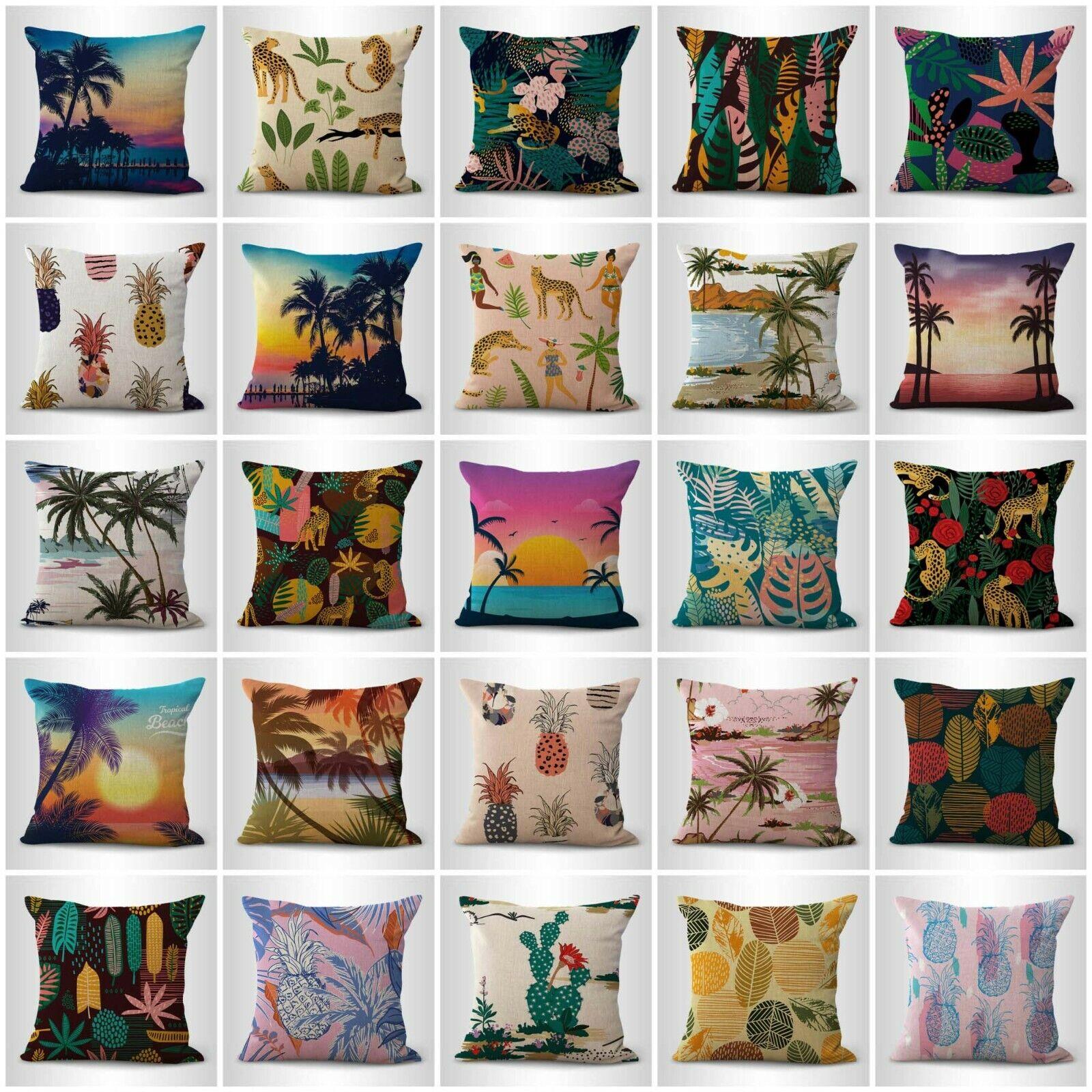US Vendeur-Set de 20 Intérieur Canapé Summer Island Aloha Jungle housses de coussin