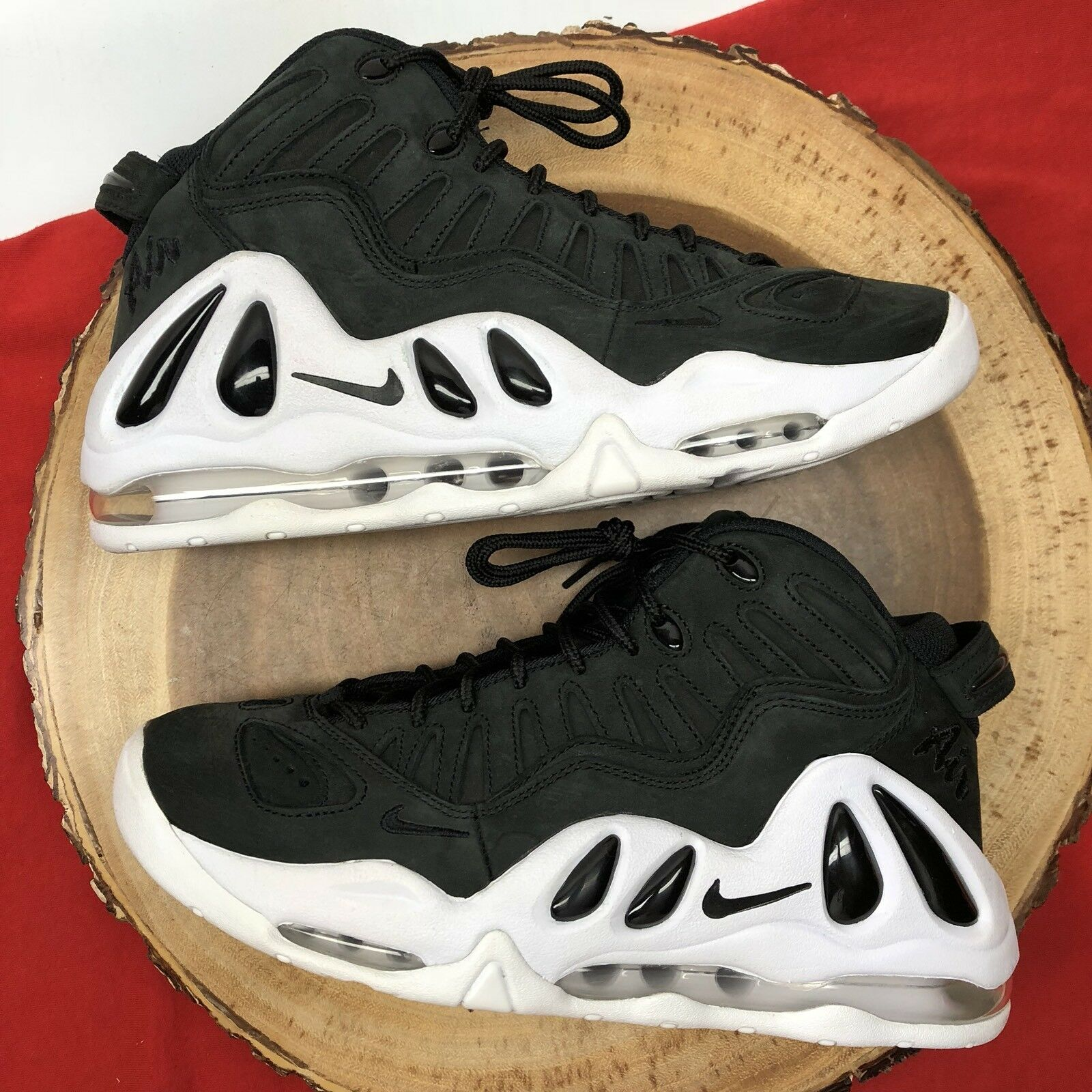 Nike Air Max Uptempo 97 Pippen Oreo Black White Comfortable