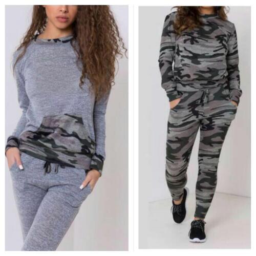 Ladies/' Women/'s Cap sleeve Tracksuit Lounge-wear Jogging 2 piece Suit PLUS SIZE
