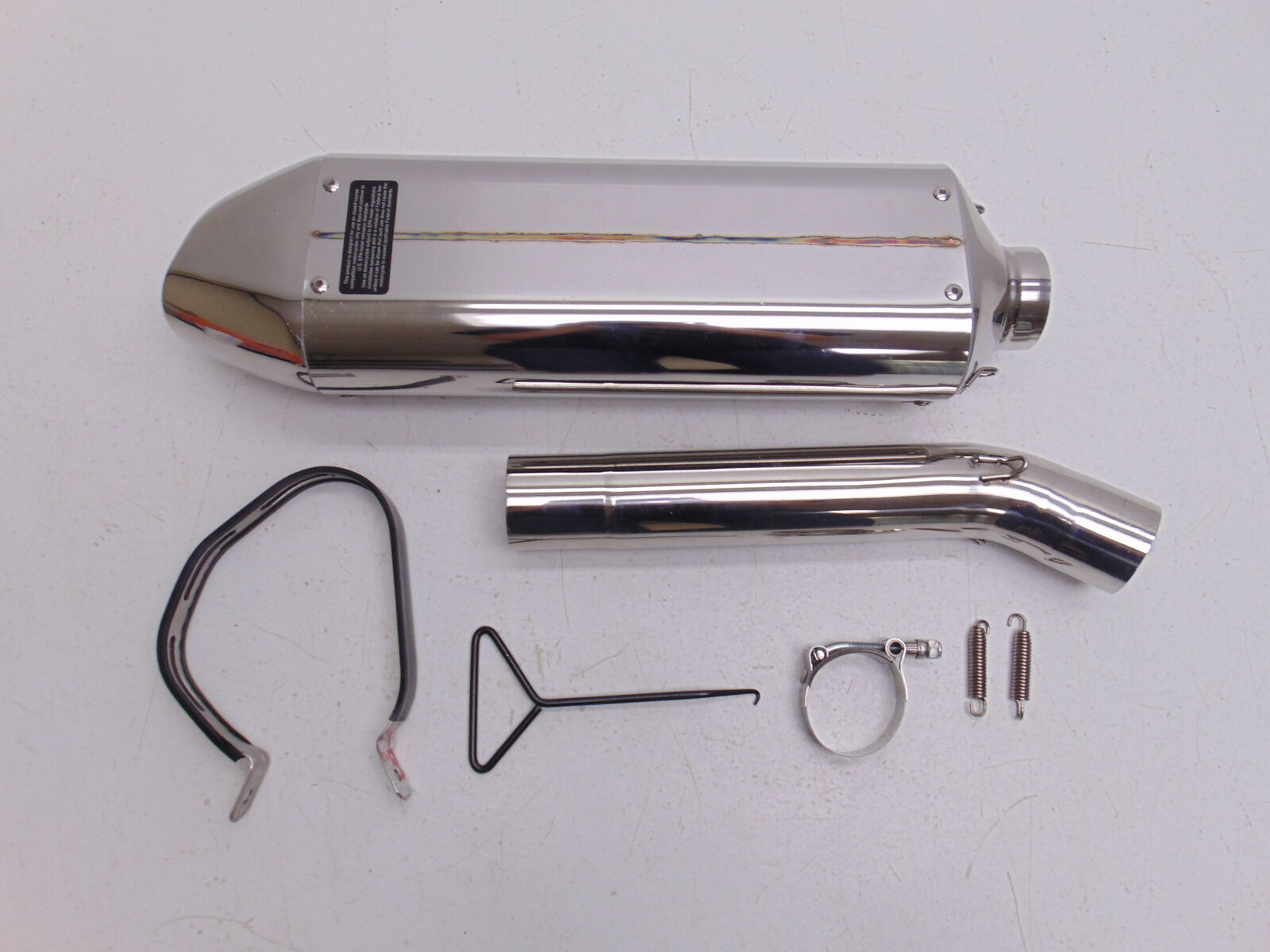 Voodoo Industries Vper6sk3p Polished Performance Exhaust Motorcycle Powersports Pipes