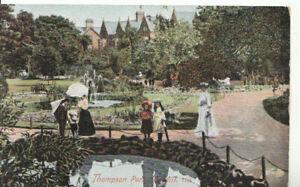 Wales-Postcard-Thompson-Park-Cardiff-Glamorgan-Ref-8538A