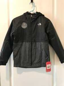 be4e9d1d4 Details about The North Face Boys Warm Storm Rain Jacket TNF Black NWT MSRP  $90.00