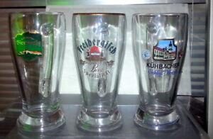 Sammlung-Schoene-Brauerei-Weissbier-Glaskruege-Weizenglas-fuer-Sammler-Bierkrug