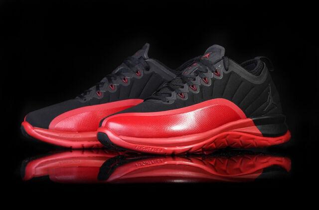 competitive price a702f 681e2 Nike Air Jordan Trainer Prime FLU GAME XII 12 Retro Black Red Varsity Bred  sz 11