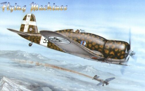 Flying Machines 1//48 Fiat G.50 Serie II w// resin and etch # 48004