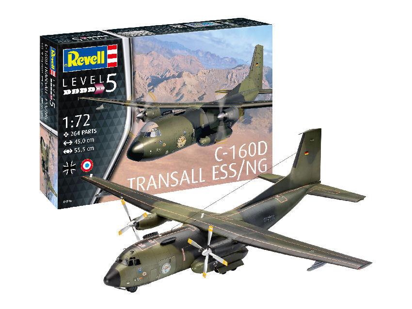 C-160 Transall 'ELOKA' Plastic Kit 1 72 Model 03916 REVELL