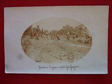 "Italia  Africa Colonie 1912 Cartolina "" Giardini Inglesi e ns.fortificazioni"""