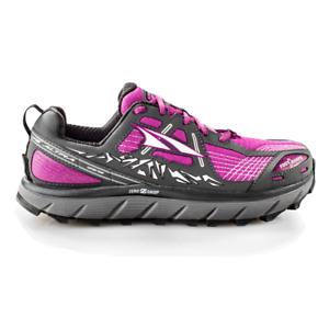 Altra Lone Peak 3.5 para Mujer Trail Running Zapatos púrpura de caída cero