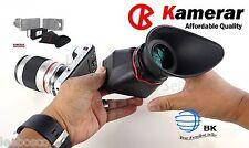 Kamerar Camera QV-1 M LCD View Finder Sony NEX a7 a7R a7S Panasonic GH2 GH3 m43