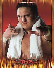 "SAMOA JOE TNA IMPACT WRESTLING PROMO PHOTO 8x10"" wwe nxt"