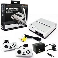 Retro Bit Nintendo NES Entertainment System (Silver/Black) [Nintendo NES]