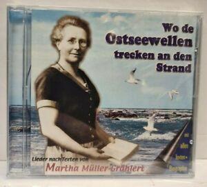 CD Wo de Ostseewellen trecken an den Strand - Lieder nach Texten von Martha ...