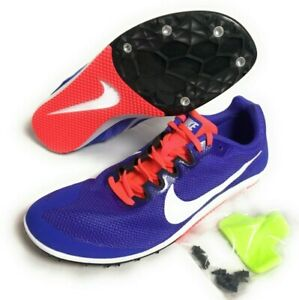Motel Teoría de la relatividad microscópico  Nike Zoom Rival D 10 Women's Track Field Running Shoes Spikes Purple  907567-500 | eBay