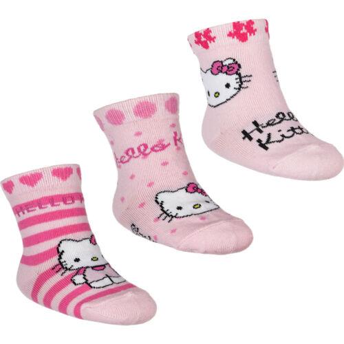 Set 3er Socken Baby Disney Winnie Pooh Hello Kitty Schlümpe Biene Maja Tom Jerry