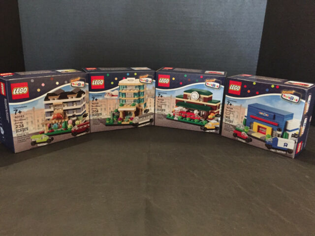 LEGO TOYS R US EXCLUSIVE 2015 BRICKTOBER 40141 40142 40143 40144 BUILDING SET