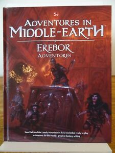 Adventures in Middle Earth - Erebor Adventures 5e (Cubicle Seven 7) 502002012