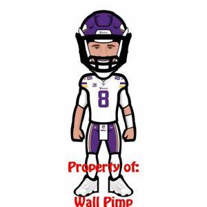 Details About Kirk Cousins Minnesota Vikings Poster Print 24x36 Wall Photo A