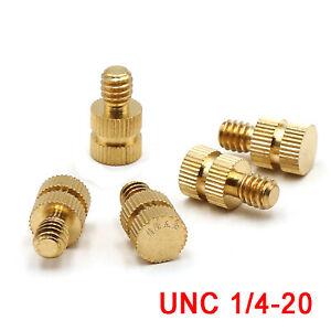 Solid Brass Knurled Head Thumb Screw Machine Screws #8-32 QTY 250