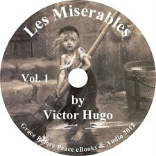 Les Miserables Vol 1 Victor Hugo Audiobook Fiction English Unabridged 1 MP3 CD
