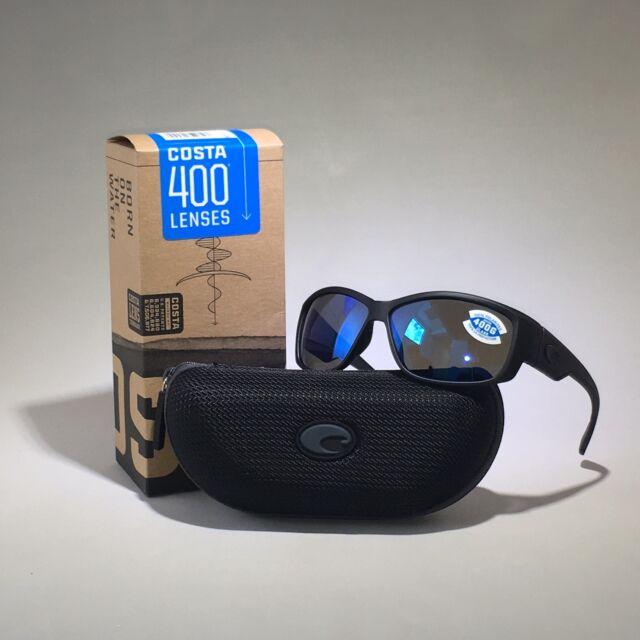 682c6d8c147 Costa Del Mar Luke LK 01 Blackout Rectangular Sunglasses Blue 400g ...