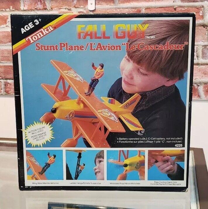 1983 Tonka FALL GUY Stunt Plane Lee Majors Colt Seavers Still New, Rare Canadian