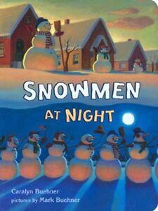 Snowmen-at-Night-by-Caralyn-Buehner