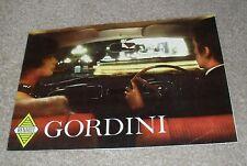 Renault Gordini Brochure 1959-1960 - Gordini De Luxe / Dauphine Gordini