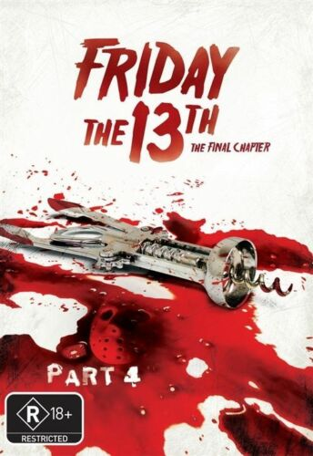 1 of 1 - Friday The 13th - The Final Chapter (New Packaging) : Part 4 (DVD, 2009)