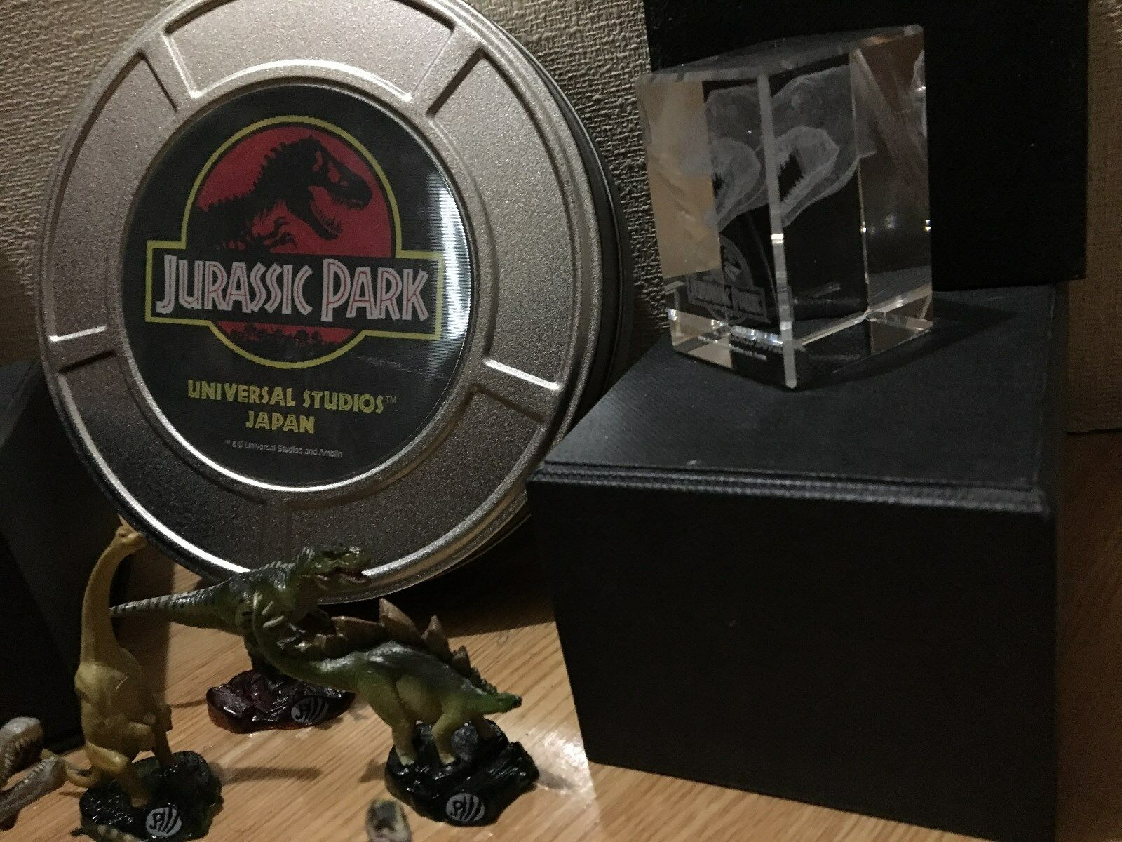 Jurassic world lost world Jurassic park Decorative Box duplicate key paperweight