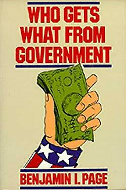 Who Gets What from Government by Page, Benjamin I.
