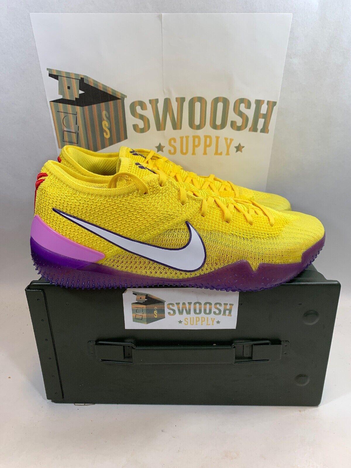 Nike Kobe AD NXT NXT NXT 360 Basketball shoes LA Lakers NEW MENS Size 9 AQ1087-700 b997b6